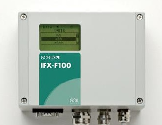 Misuratore di portata a ultrasuoni clamp-on installazione fissa IFX-F100