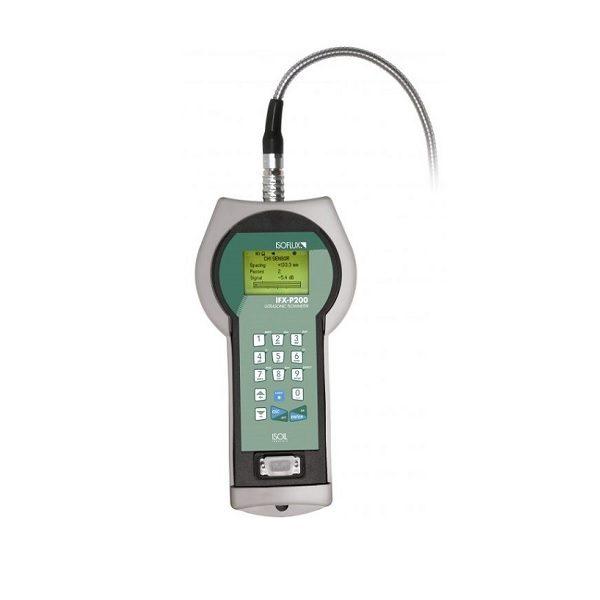 Misuratore portatile di portata clamp-on IFX-P200 ISOFLUX