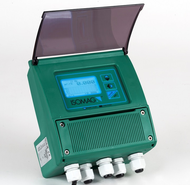 Convertitore con display per misuratori di portata magnetici MV110W